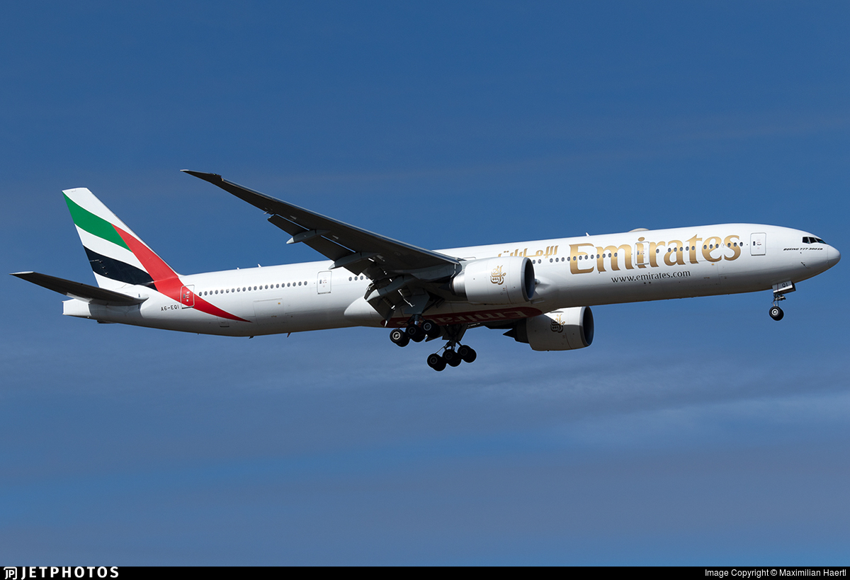 A6-EQI - Boeing 777-31HER - Emirates