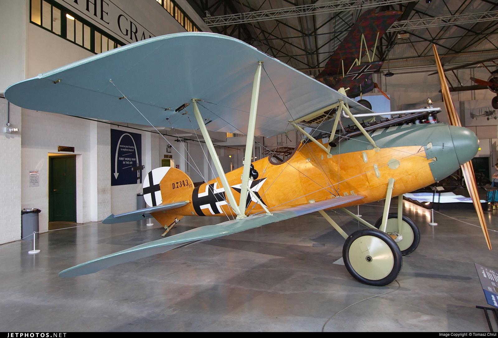 ZK-TVD - Albatros D.Va - Private