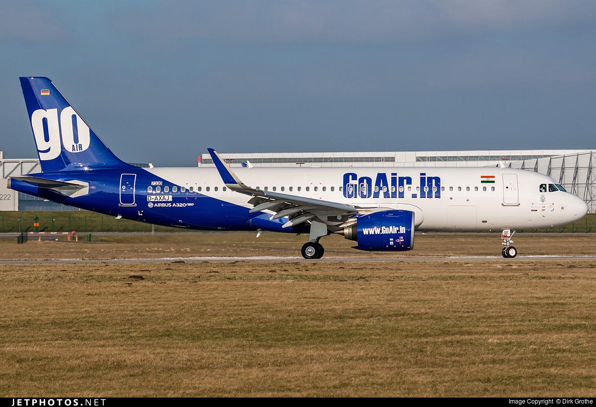 D-AXAJ - Airbus A320-271N - Go Air