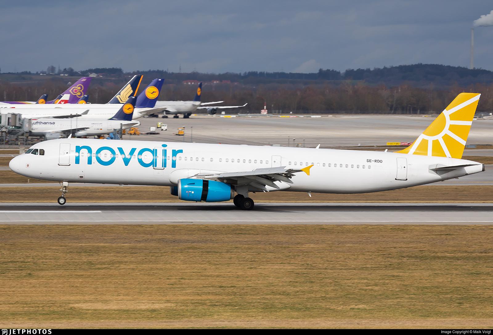 SE-RDO - Airbus A321-231 - Novair