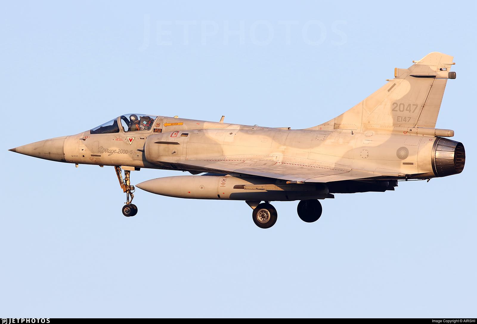 2047 - Dassault Mirage 2000-5EI - Taiwan - Air Force