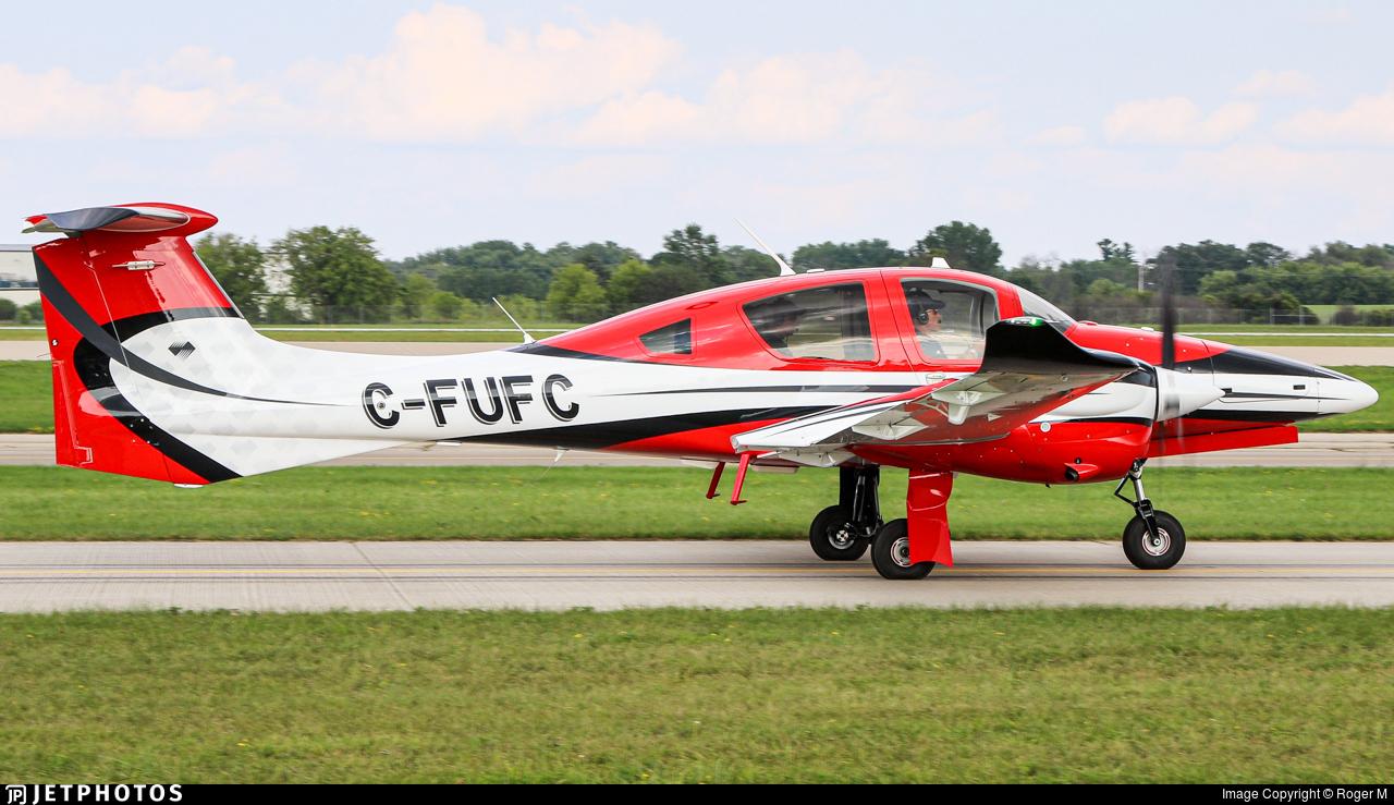 C-FUFC - Diamond Aircraft DA-62 - Private