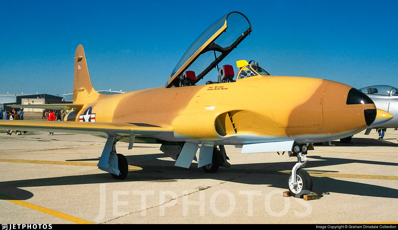 N5848F - Lockheed T-33A Shooting Star - Private