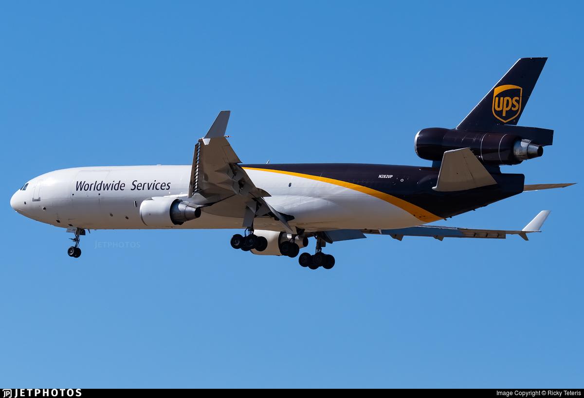 N282UP - McDonnell Douglas MD-11(F) - United Parcel Service (UPS)
