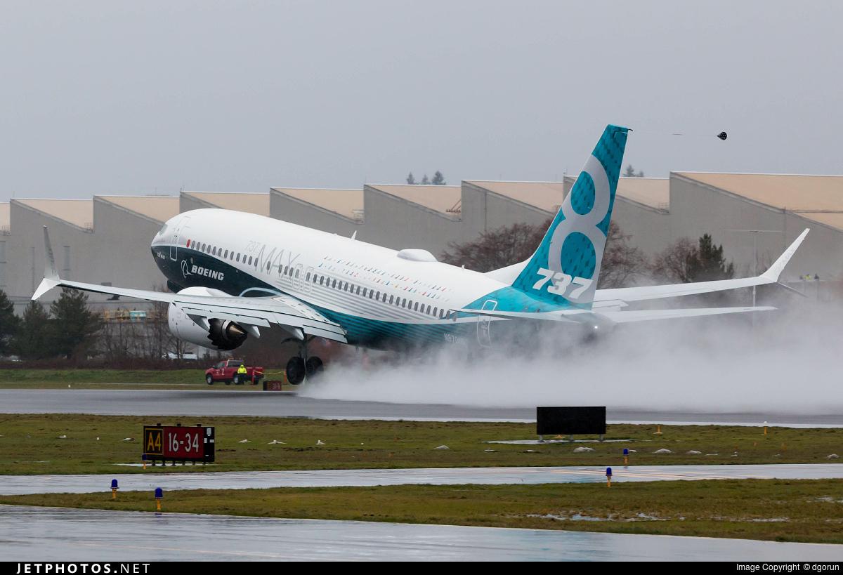 N8701Q - Boeing 737-8 MAX - Boeing Company
