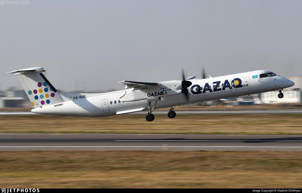 P4-NUR - Bombardier Dash 8-Q402 - Qazaq Air