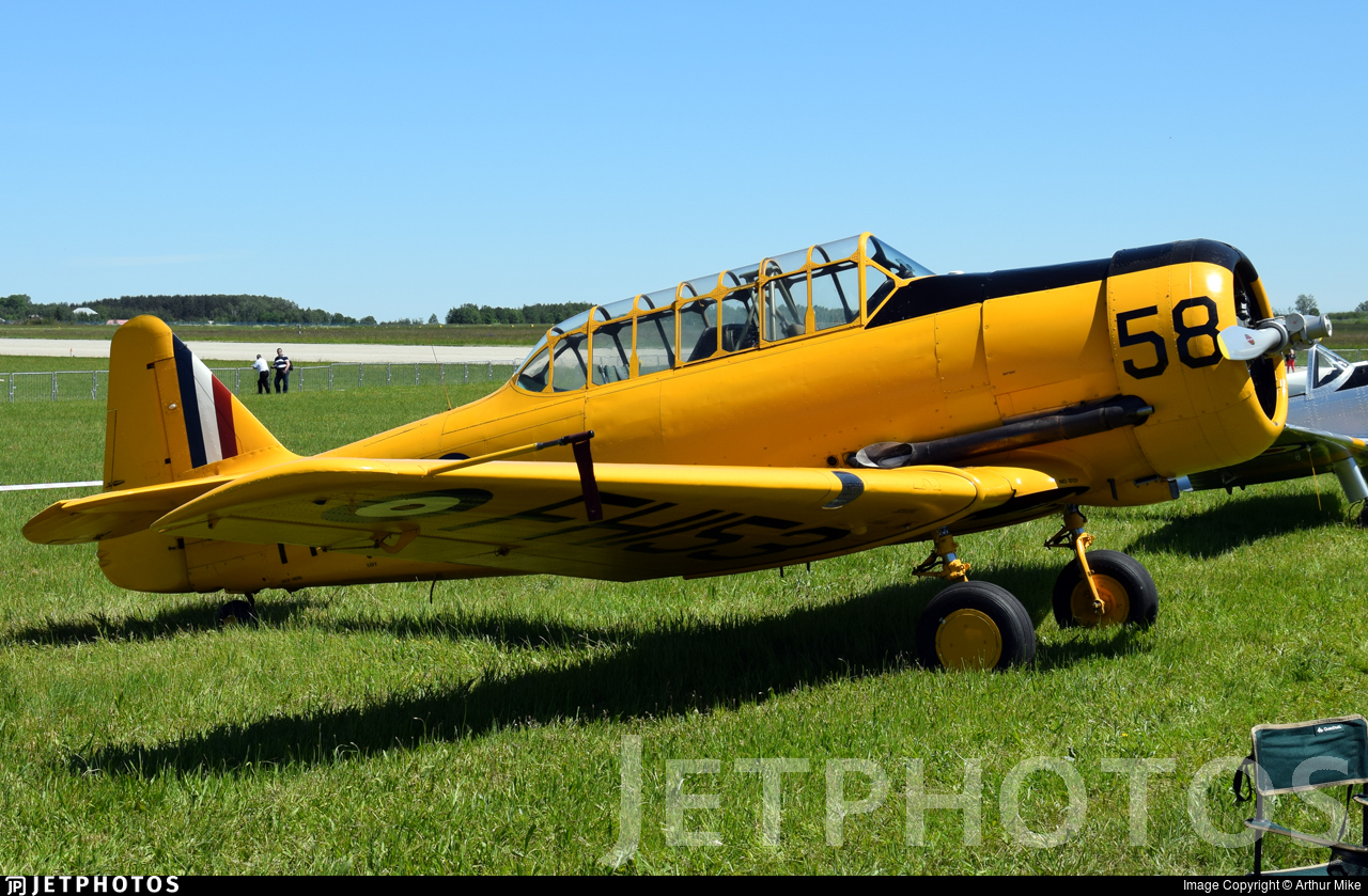 G-BBHK - Noorduyn Harvard II - Private