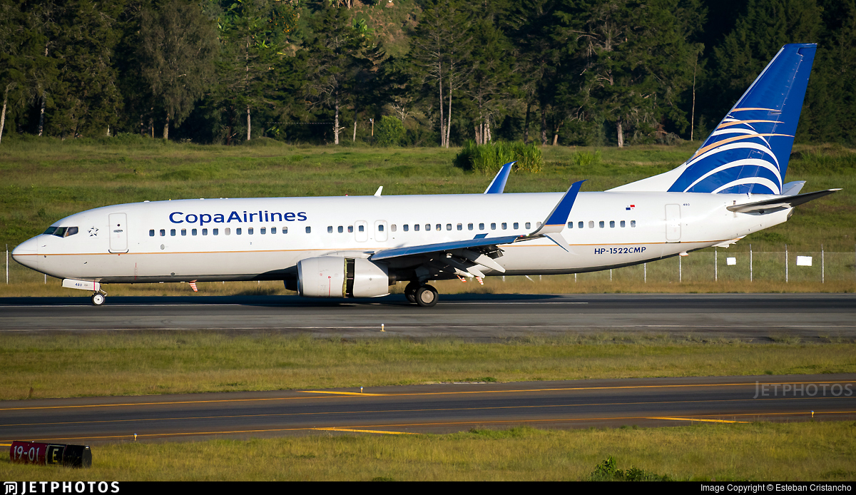 HP-1522CMP - Boeing 737-8V3 - Copa Airlines