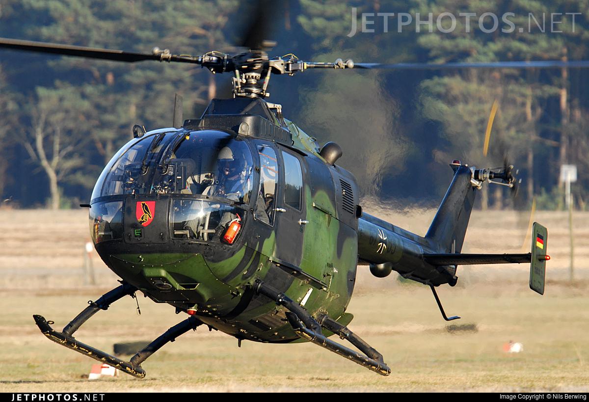 87-55 - MBB Bo105P1 - Germany - Army