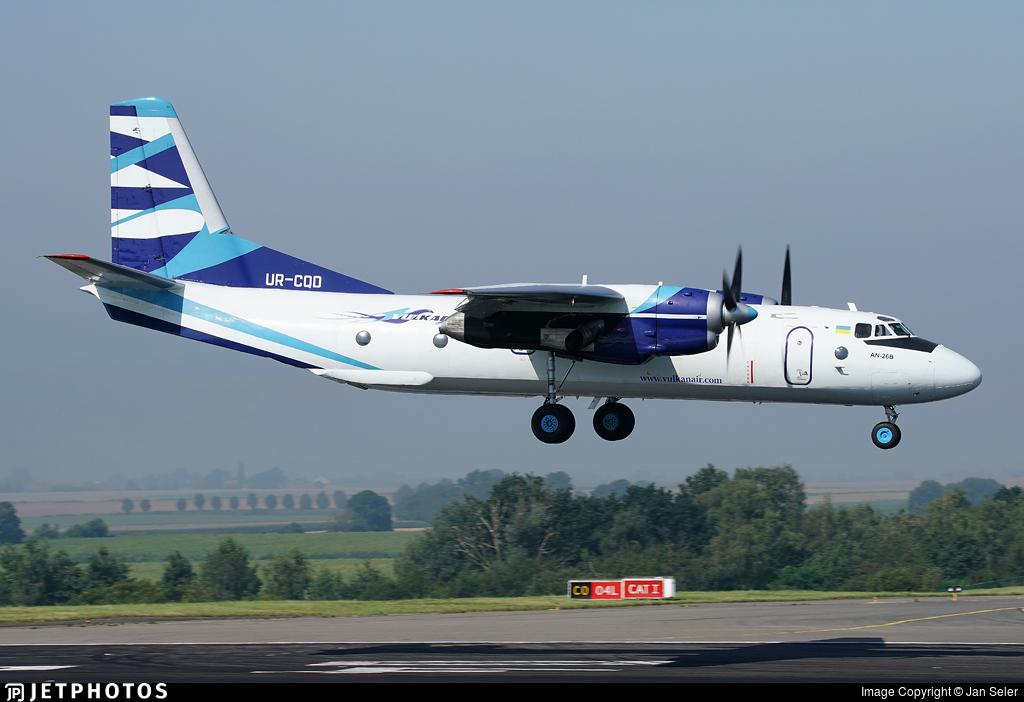 UR-CQD - Antonov An-26B - Vulkan Air