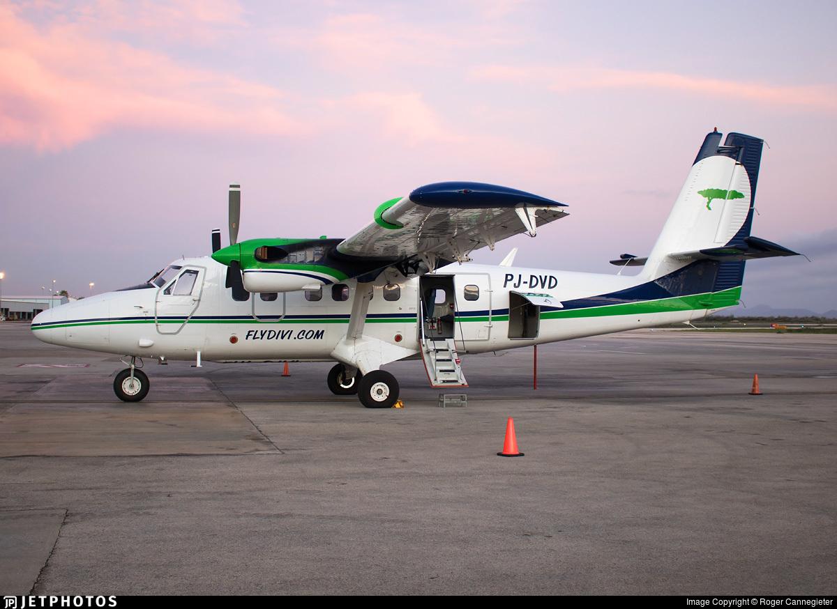 PJ-DVD - De Havilland Canada DHC-6-300 Twin Otter - Divi Divi Air