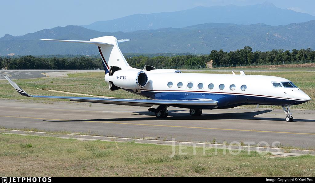 M-ATAK - Gulfstream G650 - Private