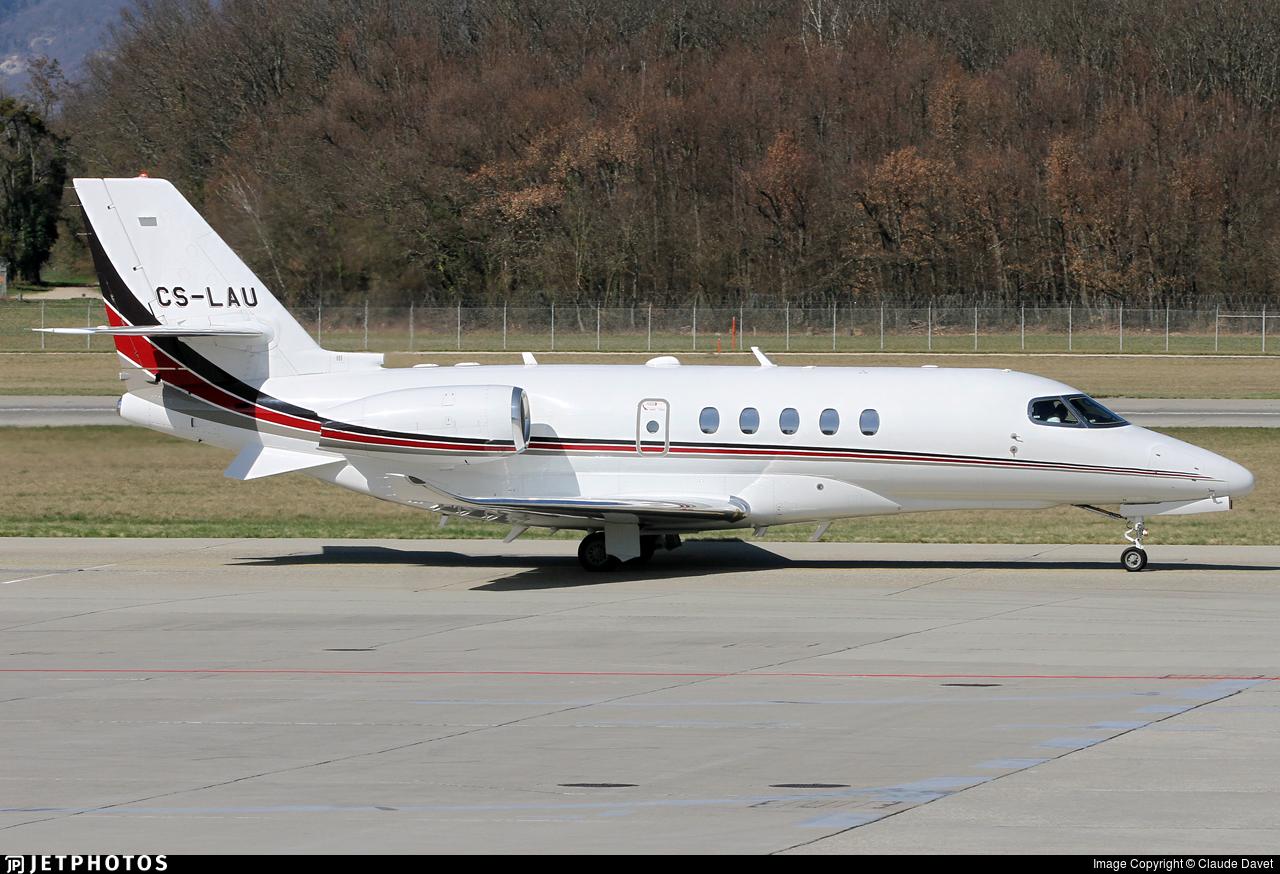 CS-LAU - Cessna Citation Latitude - NetJets Europe