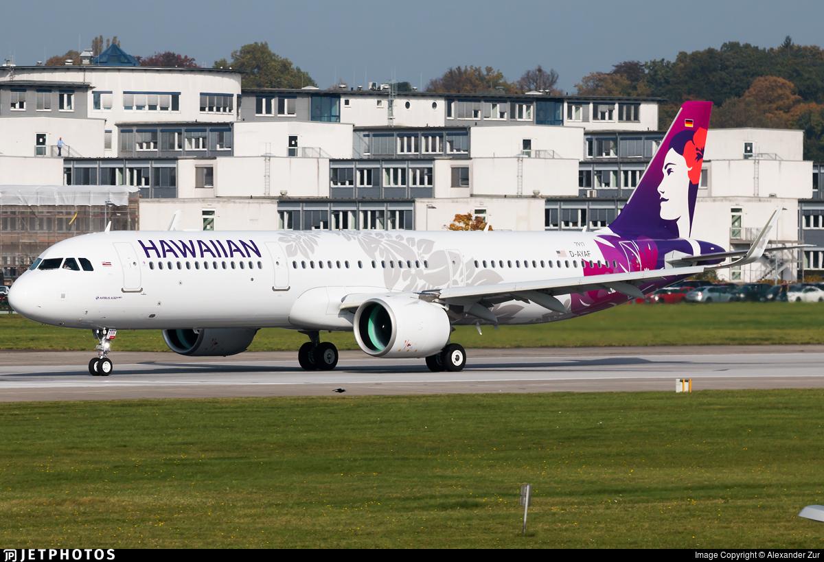 D-AYAF - Airbus A321-271N - Hawaiian Airlines