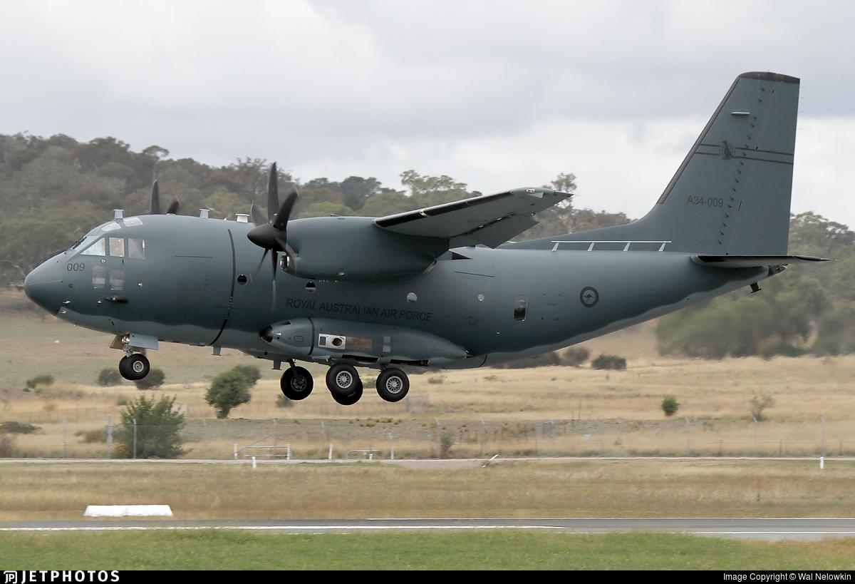 A34-009 - Alenia C-27J Spartan - Australia - Royal Australian Air Force (RAAF)