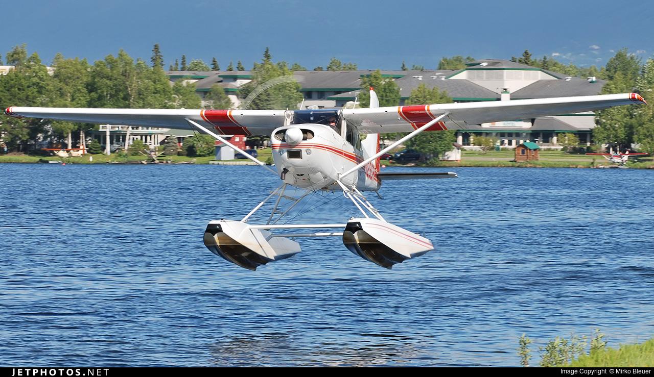 N29SR - Cessna A185F Skywagon - Private