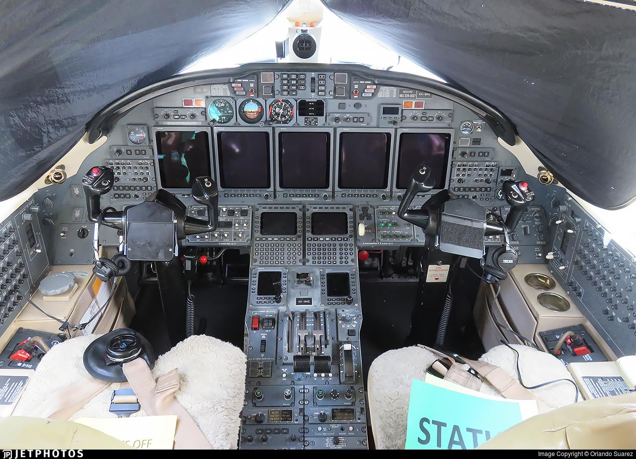 XA-BAE - Cessna 750 Citation X - Private