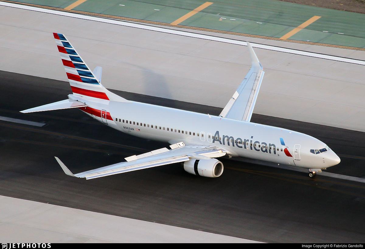 N963AN - Boeing 737-823 - American Airlines