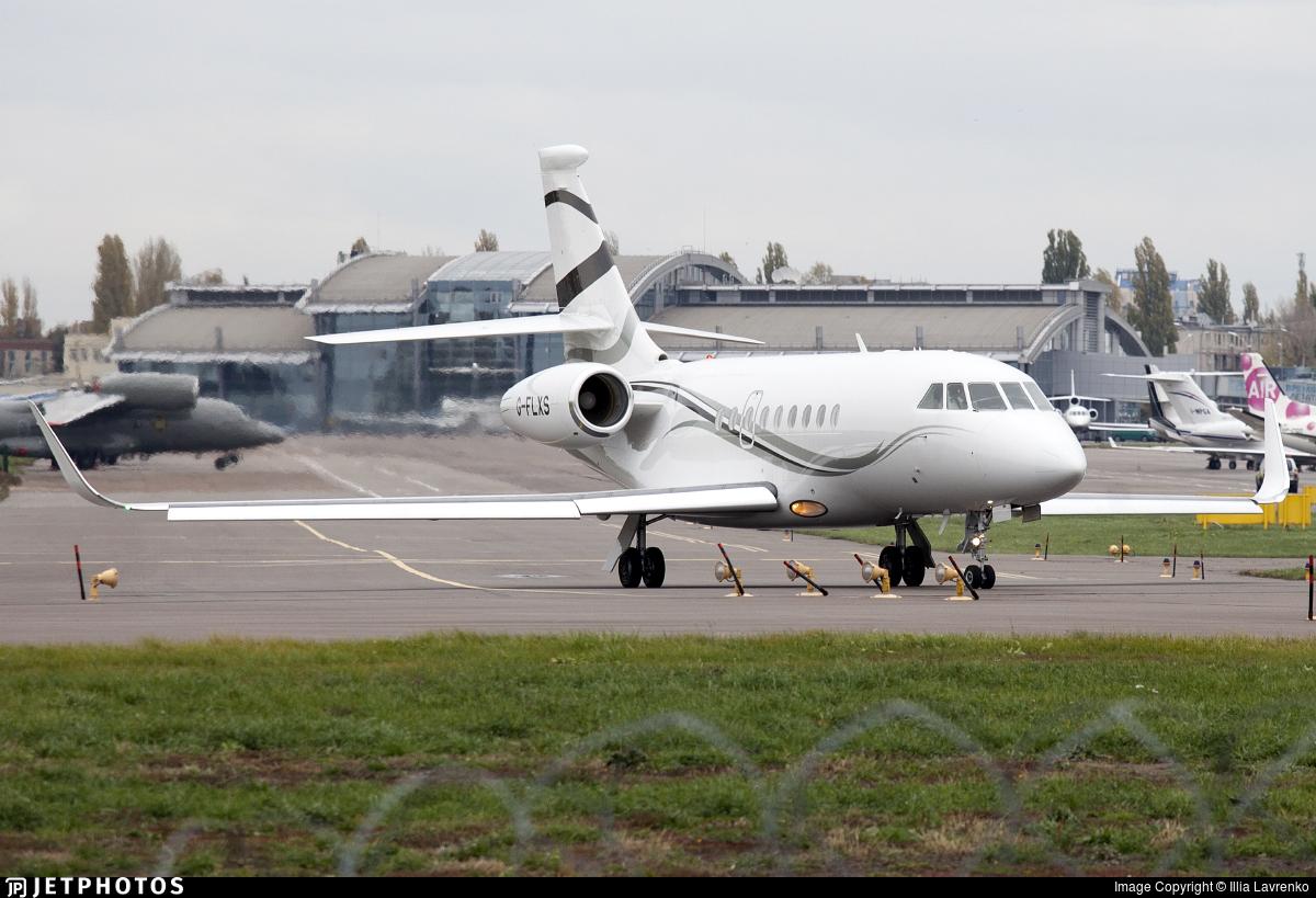 G-FLXS - Dassault Falcon 2000LXS - TAG Aviation
