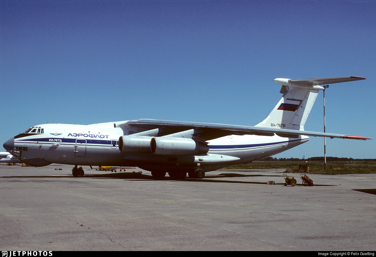 RA-76781 - Ilyushin IL-76TD - Aeroflot