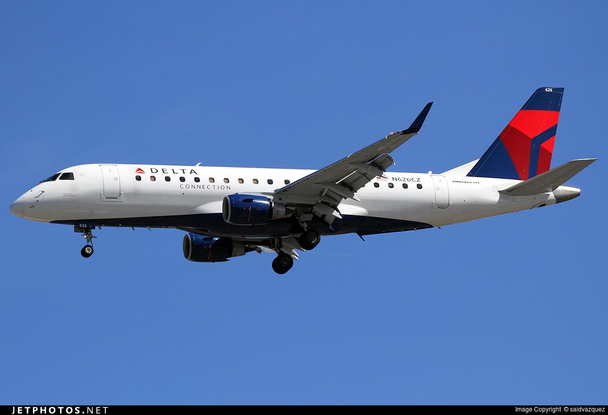 N626CZ - Embraer 170-200LR - Delta Connection (Compass Airlines)