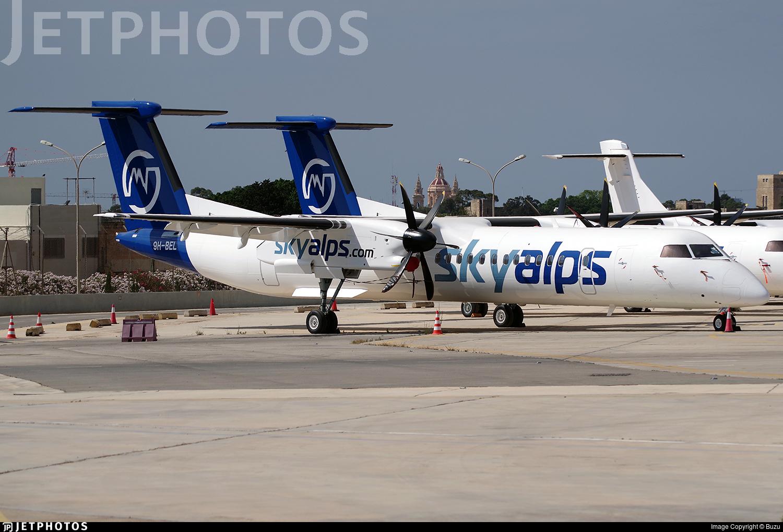 9H-BEL - Bombardier Dash 8-Q402 - Sky Alps (Luxwing)