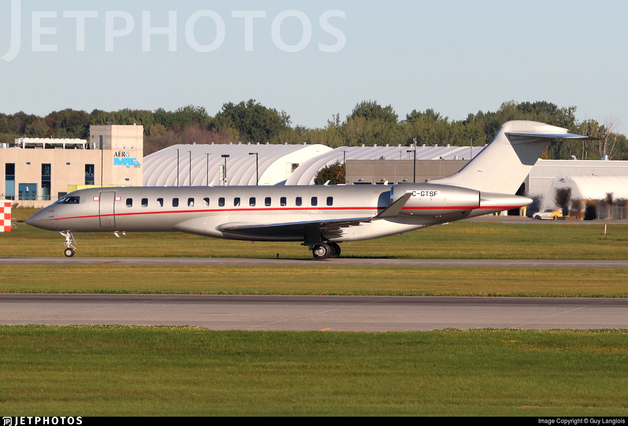 C-GTSF - Bombardier BD-700-2A12 Global 7500  - Bombardier Aerospace