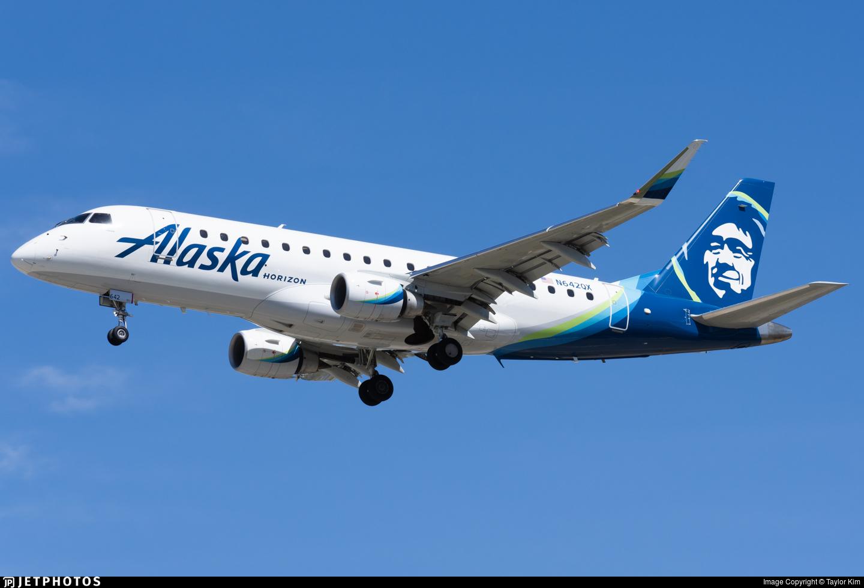N642QX - Embraer 170-200LR - Alaska Airlines (Horizon Air)