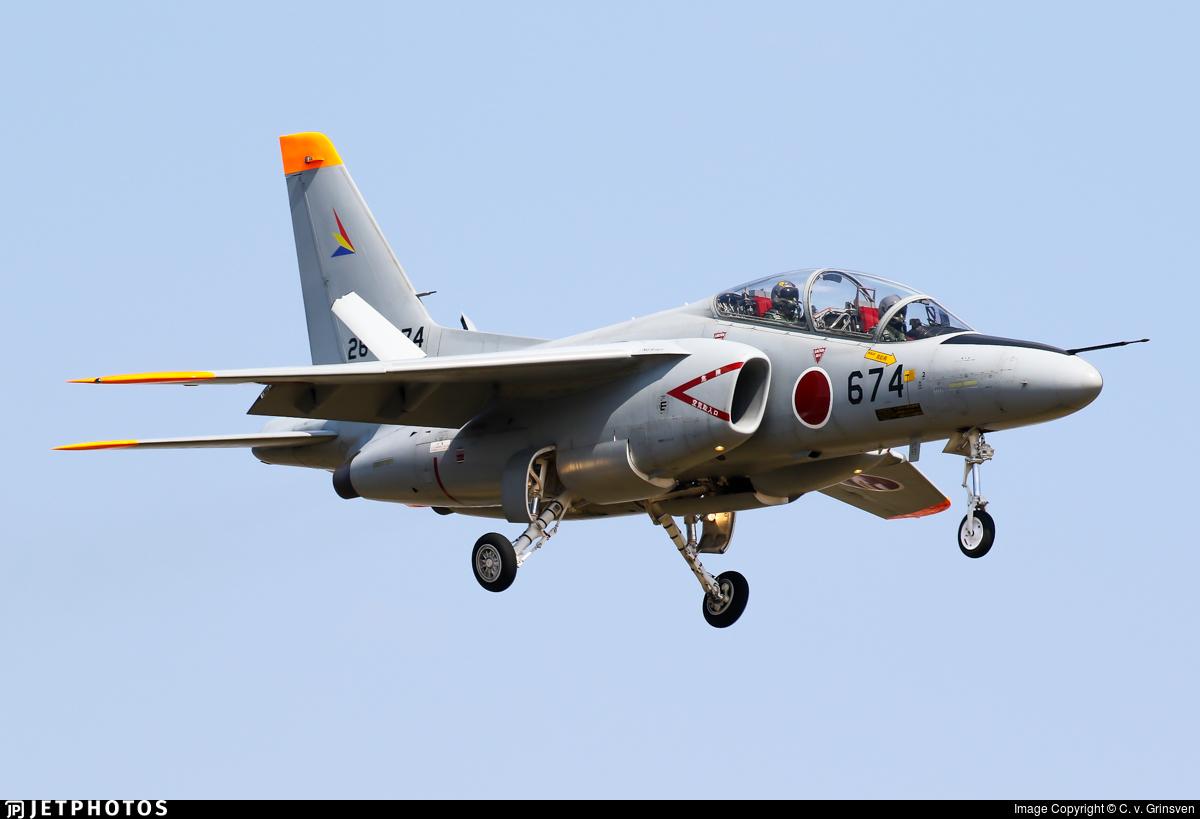 26-5674 - Kawasaki T-4 - Japan - Air Self Defence Force (JASDF)