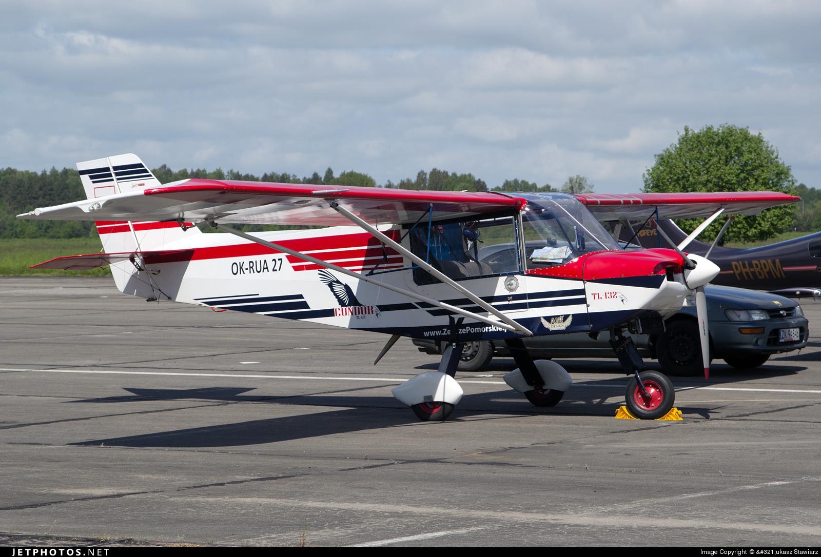 OK-RUA27 - TL Ultralight TL-132 Condor - Private
