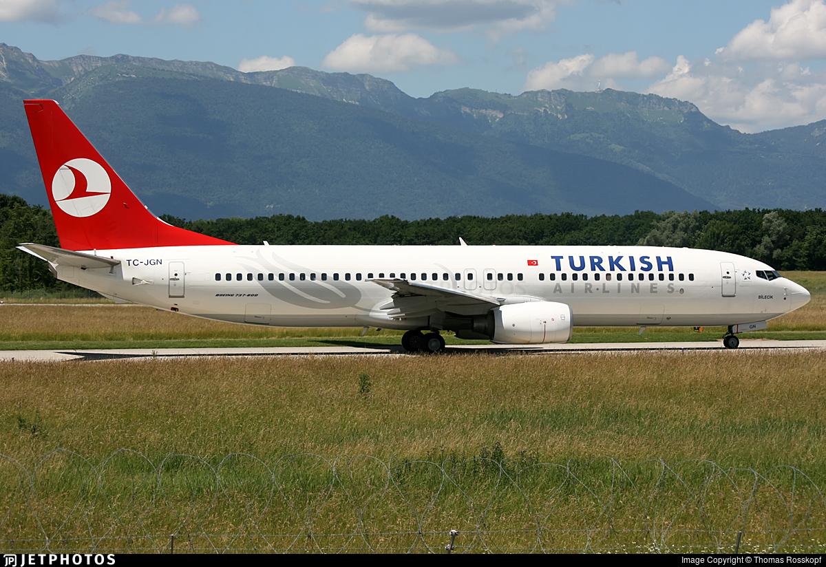 TC-JGN - Boeing 737-8F2 - Turkish Airlines