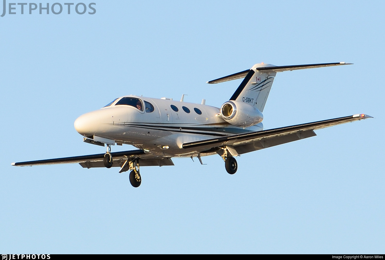 C-GBKT - Cessna 510 Citation Mustang - Private
