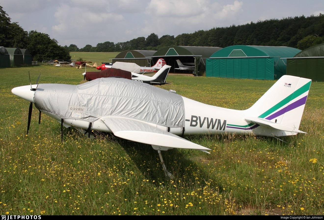 G-BVWM - Europa XS Monowheel - Private