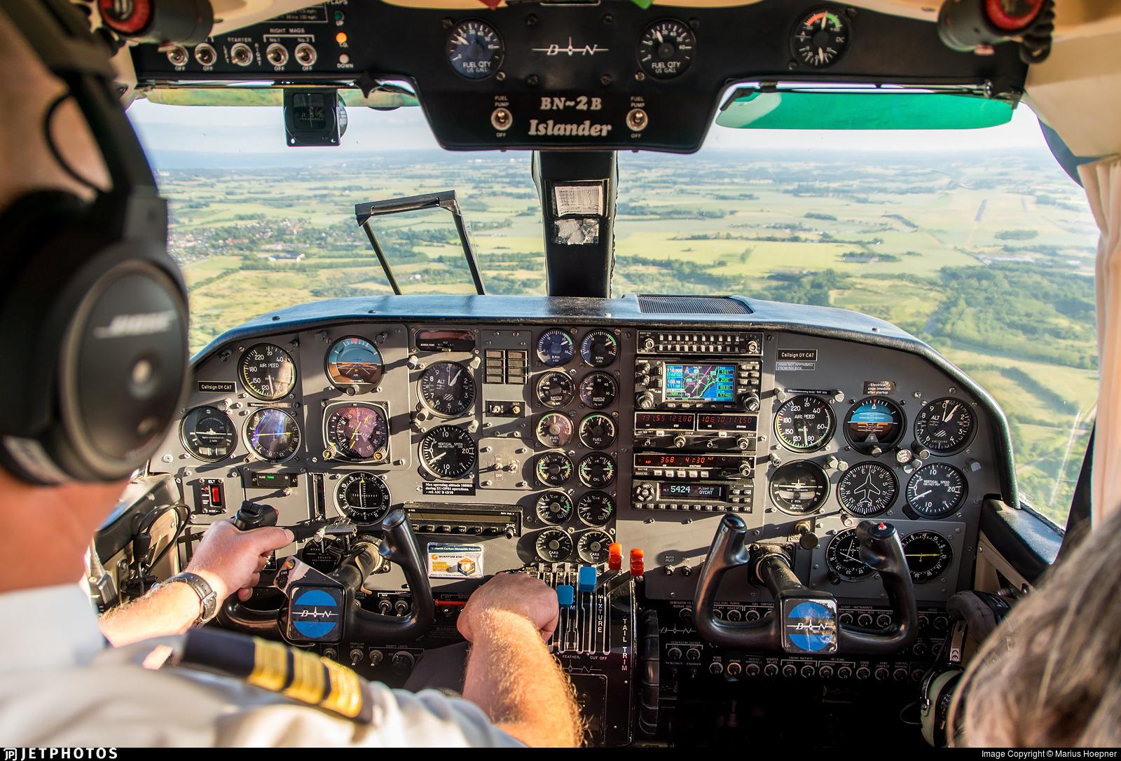 OY-CAT - Britten-Norman BN-2A Islander - Copenhagen Air Taxi (CAT)