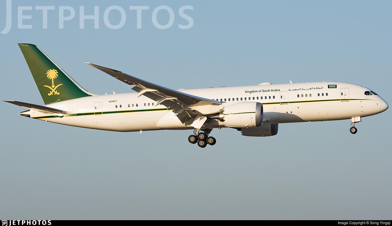 HZ-MF7 - Boeing 787-8(BBJ) Dreamliner - Saudi Arabia - Ministry of Finance