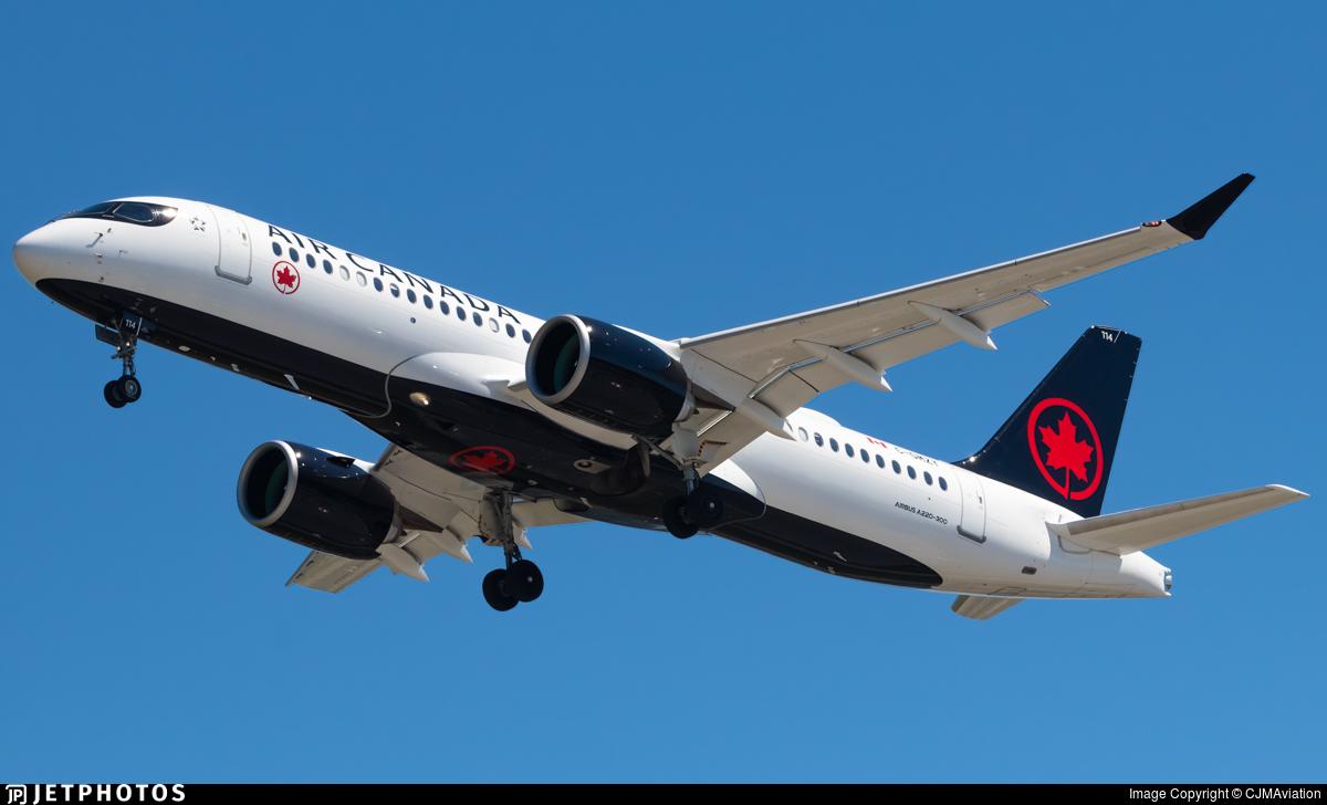 C-GMZY - Airbus A220-371 - Air Canada