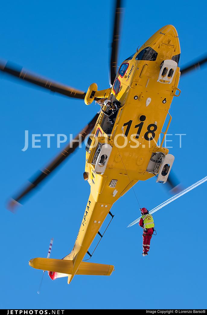 I-PAAA - Agusta-Westland AW-139 - Inaer