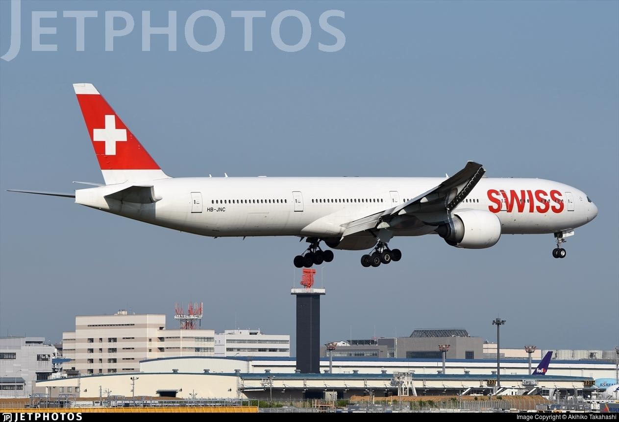 HB-JNC - Boeing 777-3DEER - Swiss