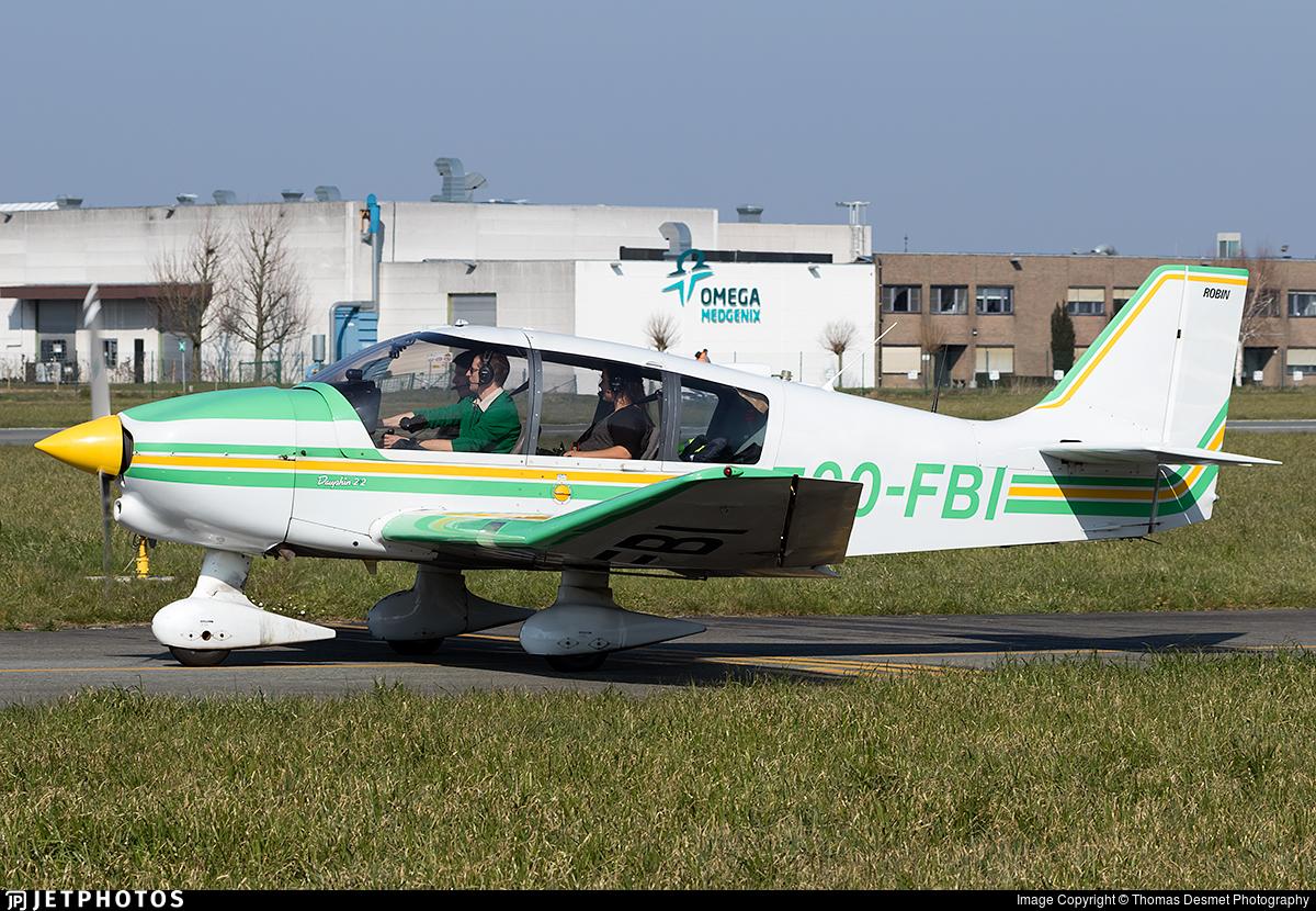 OO-FBI - Robin DR400/120 Dauphin 2+2 - Kortrijk Flying Club