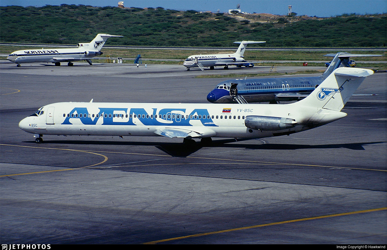 YV-85C - McDonnell Douglas DC-9-51 - AVENSA - Aerovías Venezolanas
