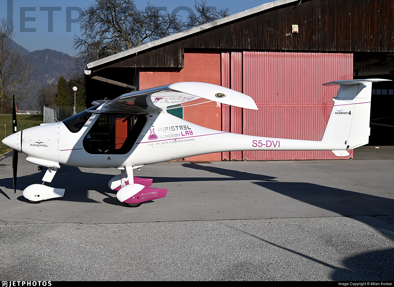 S5-DVI - Pipistrel Virus SW121 - Private