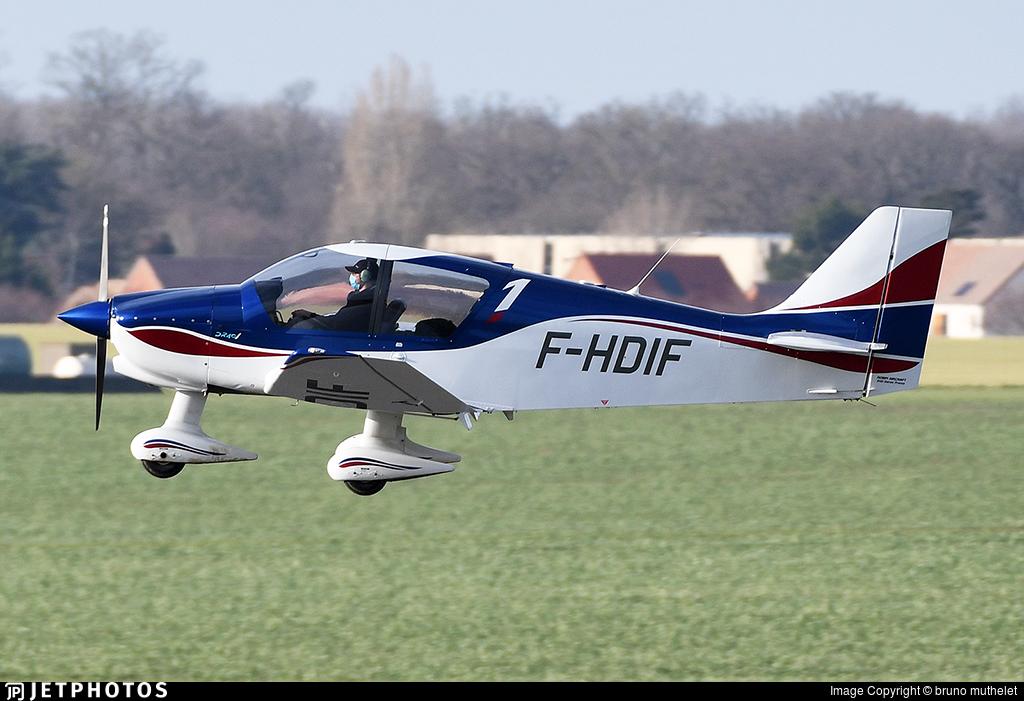 F-HDIF - Robin DR400/120 - Aero Club - Marcel Dassault