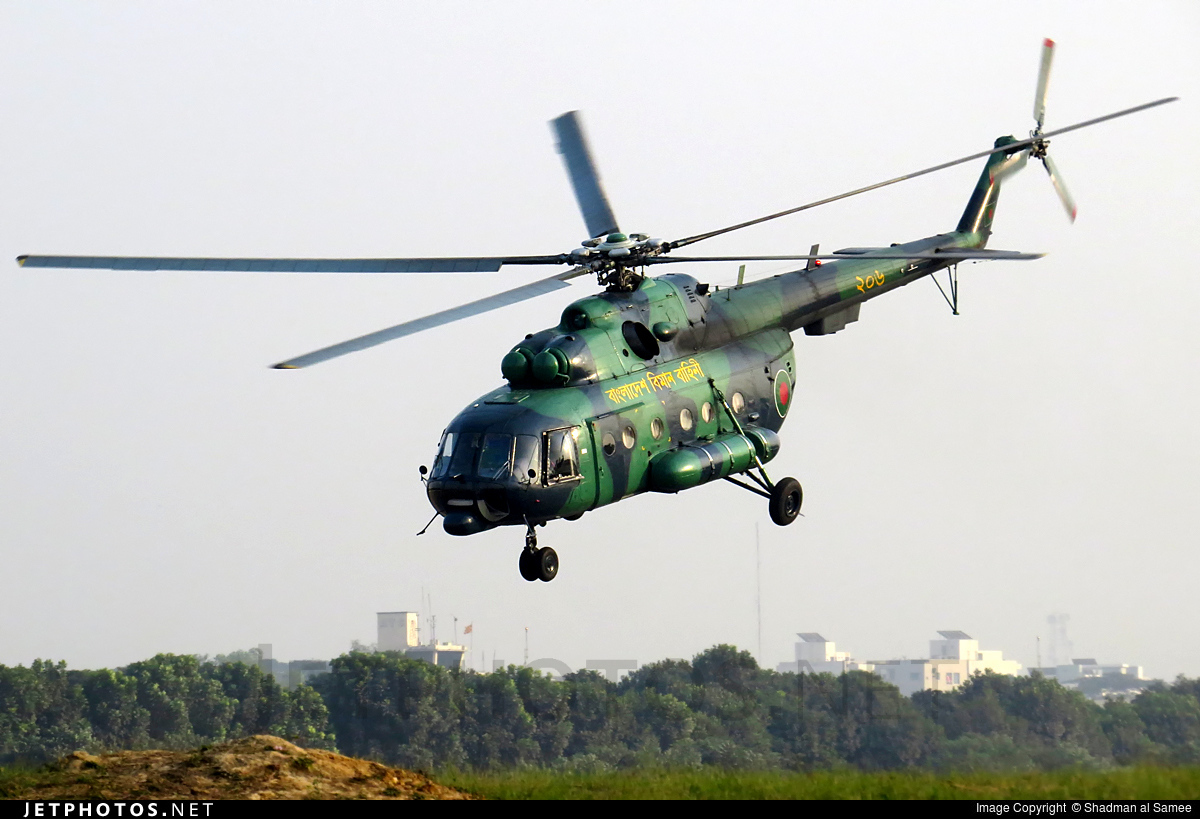 206 - Mil Mi-17 Hip - Bangladesh - Air Force