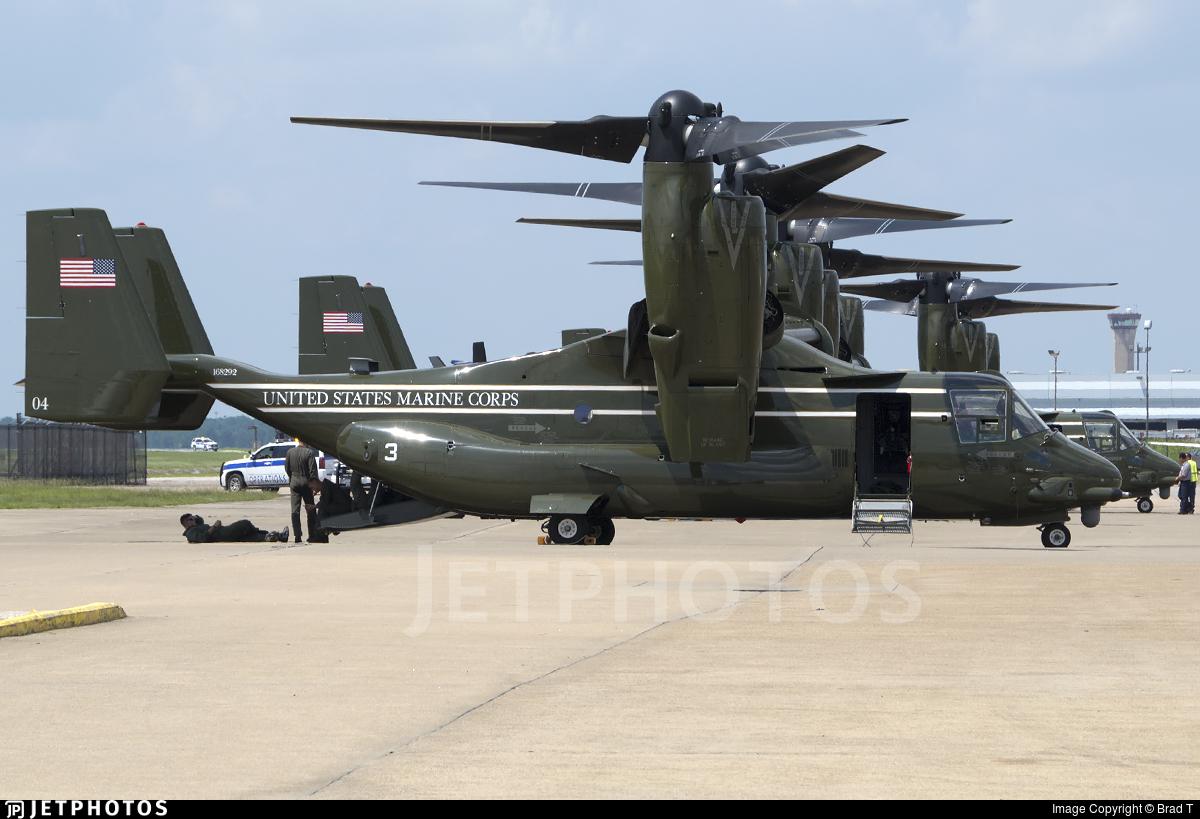168292 - Boeing MV-22B Osprey - United States - US Marine Corps (USMC)