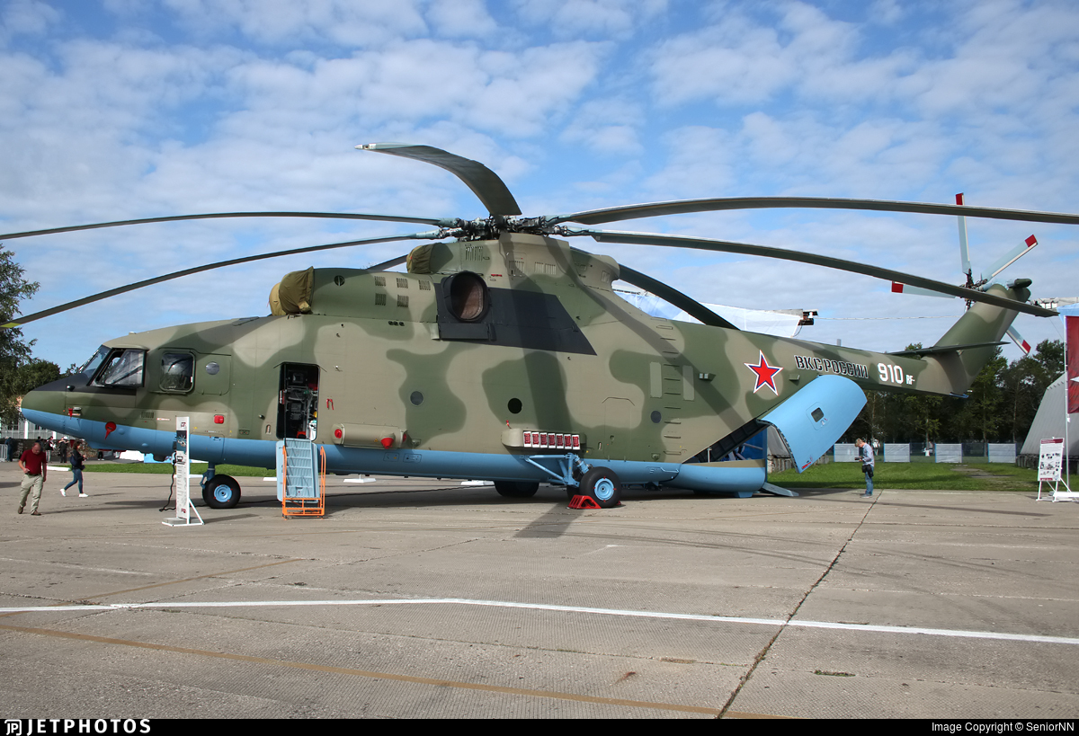 910 - Mil Mi-26 Halo - Russia - Air Force
