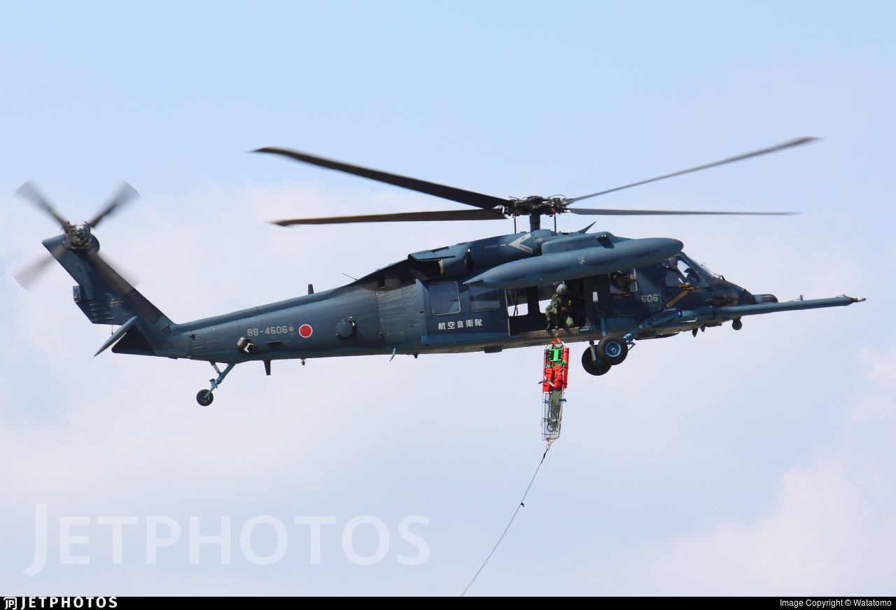 88-4606 - Mitsubishi UH-60J - Japan - Air Self Defence Force (JASDF)