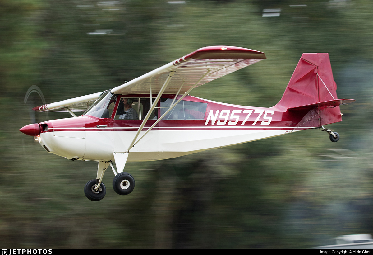N9577S - Champion 7ECA Citabria - Private