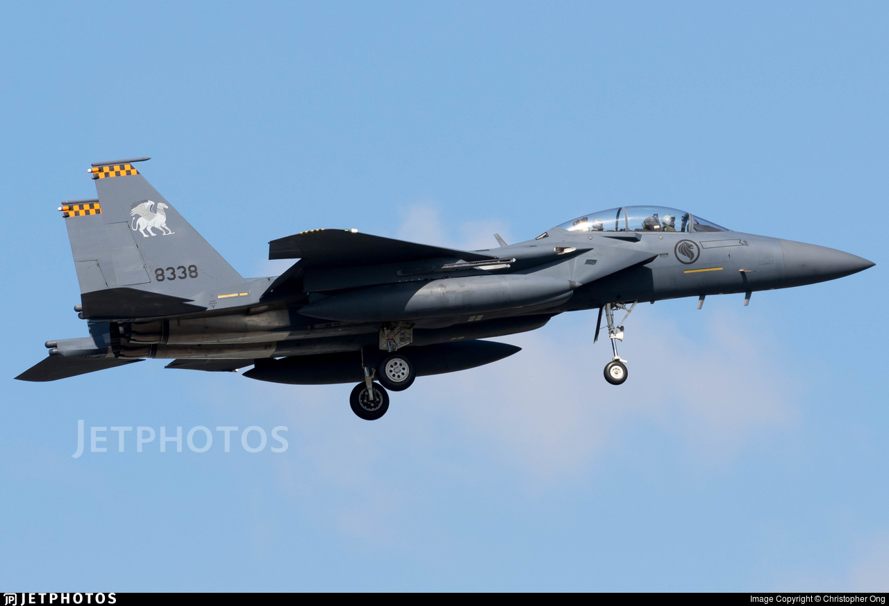 8338 - Boeing F-15SG Strike Eagle - Singapore - Air Force
