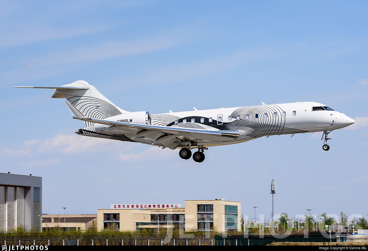 N866LM - Bombardier BD-700-1A11 Global 5000 - Private