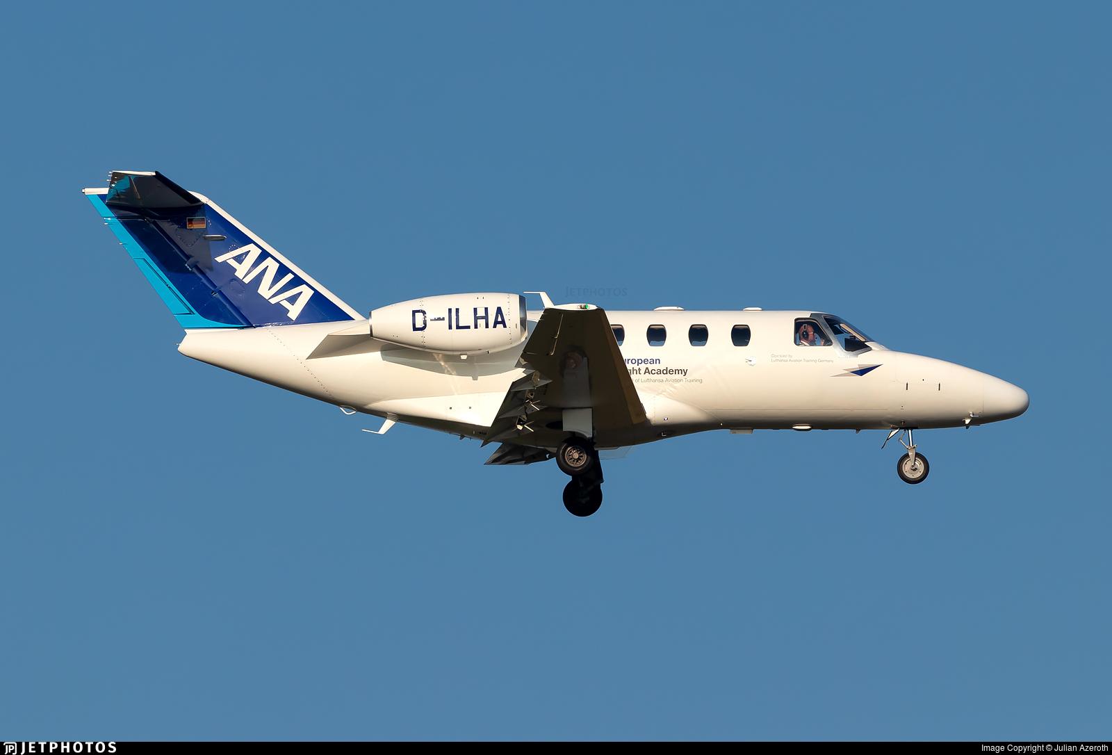 D-ILHA - Cessna 525 CitationJet 1 - European Flight Academy